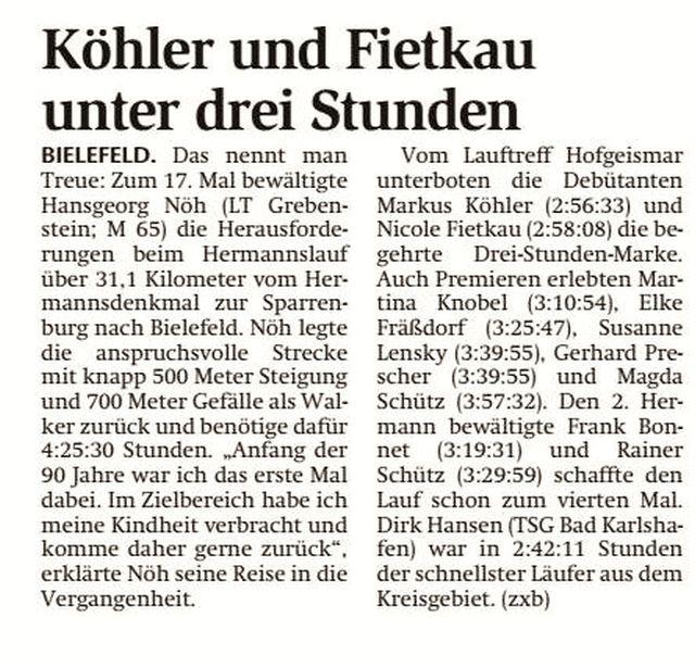 Berichte   2018   Lauftreff Grebenstein e.V.